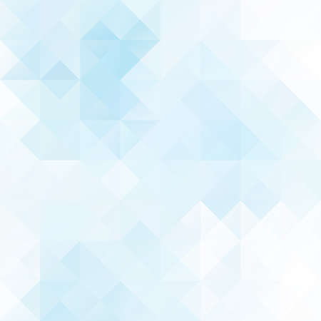 contemporary art: Blue Grid Mosaic Background, Creative Design Templates