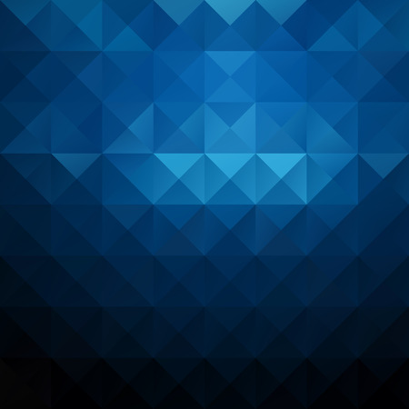 Blue Grid Mosaic Background, Creative Design Templates