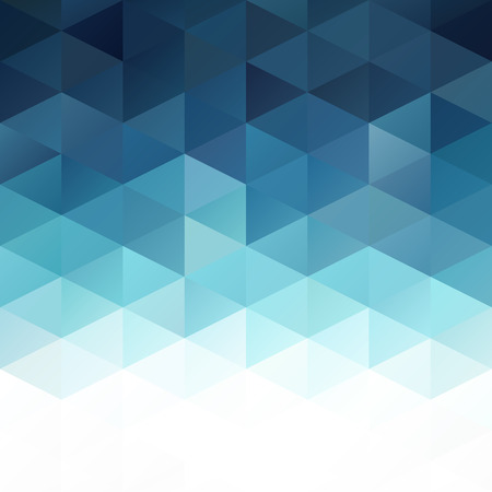 Blue Grid Mosaic Hintergrund, Creative Design Vorlagen Illustration