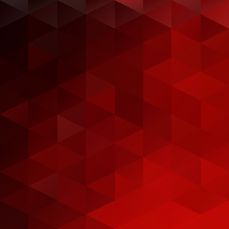 abstract art background: Red Grid Mosaic Background, Creative Design Templates Illustration