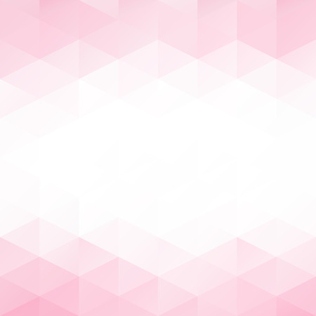 Pink Grid Mosaic Background, Creative Design Templates Stock Illustratie