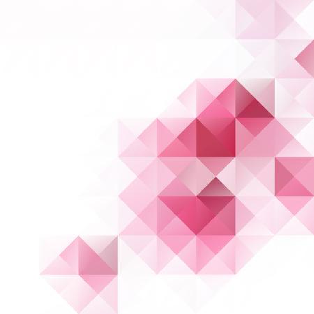 Pink Grid Mosaic Background, Creative Design Templates  イラスト・ベクター素材
