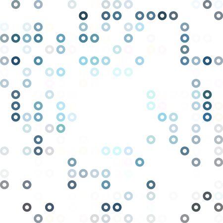 creative design: Blue Donuts Background, Creative Design Templates
