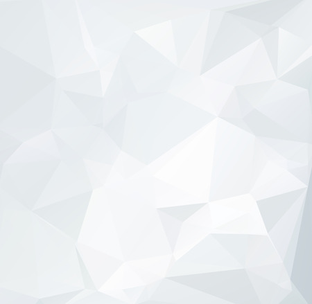 poligonos: Fondo gris blanca poligonal, plantillas de diseño creativo
