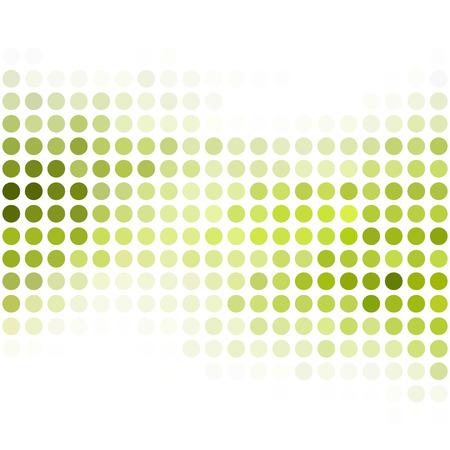 Grüne Punkte Hintergrund, kreatives Design Vorlagen Illustration