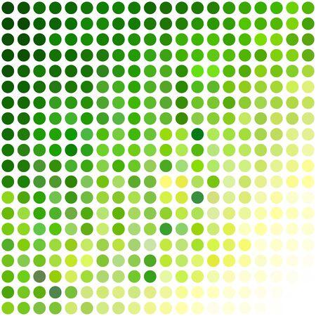 Green Dots Background, Creative Design Templates  イラスト・ベクター素材