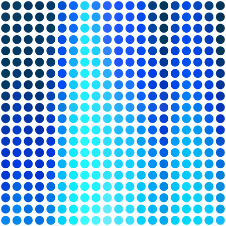 Blue Dots Background, Creative Design Templates