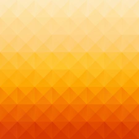 cuadrados: Antecedentes del mosaico cuadrícula Orange, plantillas de diseño creativo