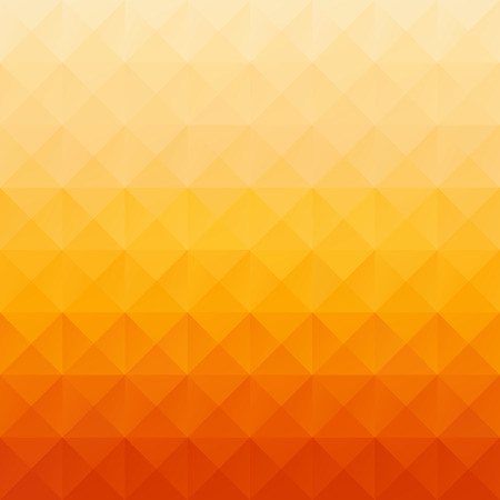 Orange Grid Mosaic Background, Creative Design Templates 矢量图像