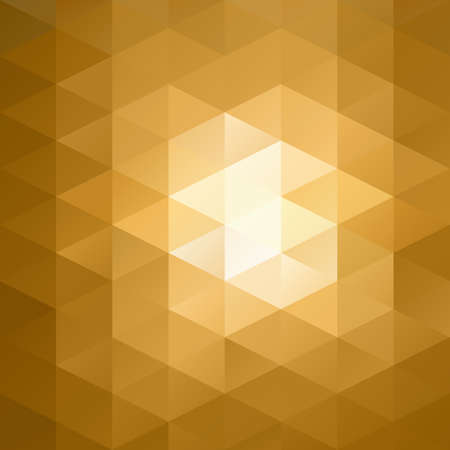 diamond shape: Orange Grid Mosaic Background, Creative Design Templates Illustration