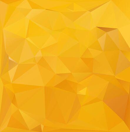 geometric background: Fondo amarillo mosaico poligonal, las plantillas del dise�o creativo
