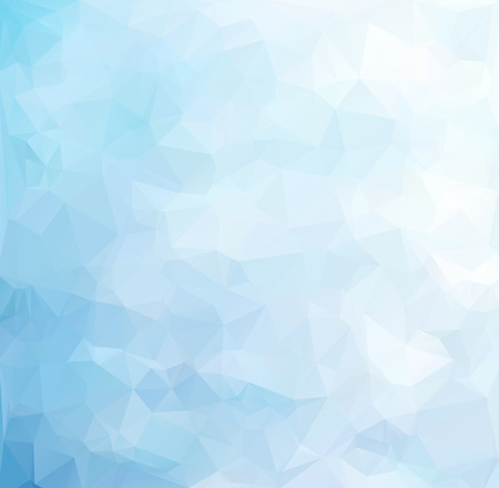 Blue Polygonal Mosaic Background, Creative Design Templates Imagens - 45287817