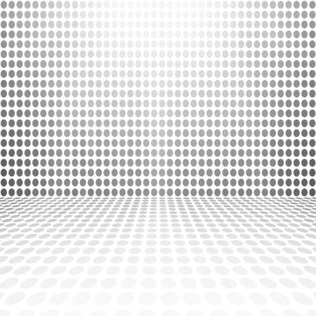 squares background: Gray White Dot Empty Perspective Digital Space Wall Room
