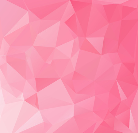 Roze Polygonal Mozaïekachtergrond, Creative Design Templates