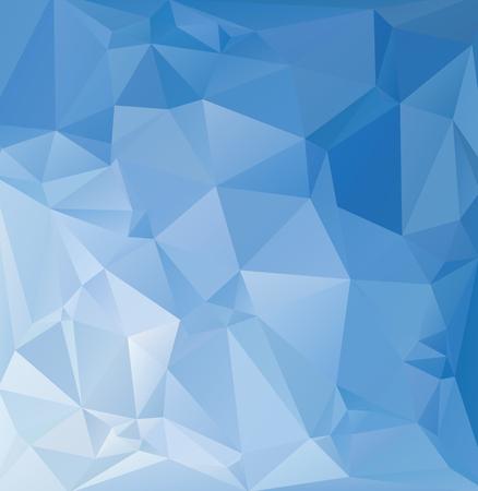 mosaic background: Blue Polygonal Mosaic Background, Creative Design Templates