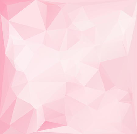 Pink Polygonal Mosaic Background, Creative Design Templates Illustration