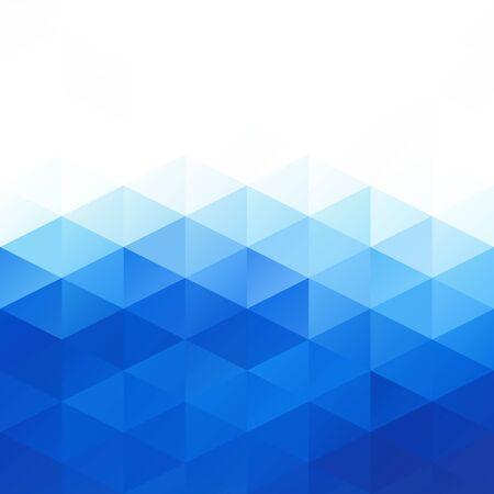 blue: Blue Grid Mosaic Background, Creative Design Templates
