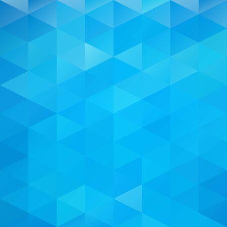 abstrakte muster: Blau Grid Mosaic Hintergrund, kreatives Design Vorlagen