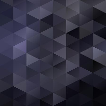 ブラック グリッド モザイクの背景、創造的なデザイン テンプレート