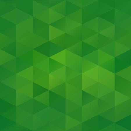 fondo geometrico: Antecedentes del mosaico Green Grid, las plantillas del dise�o creativo Vectores