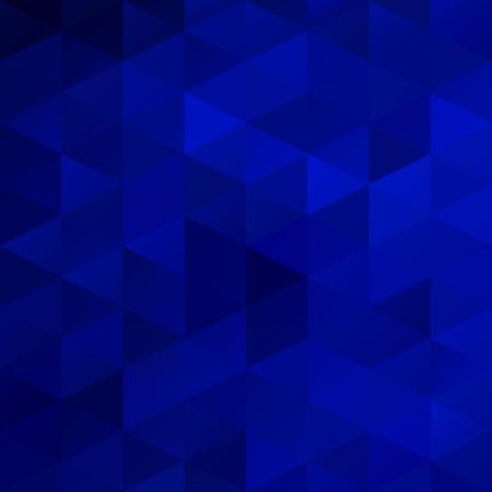 Bleu Grille Mosaic Background, Creative Modèles de conception