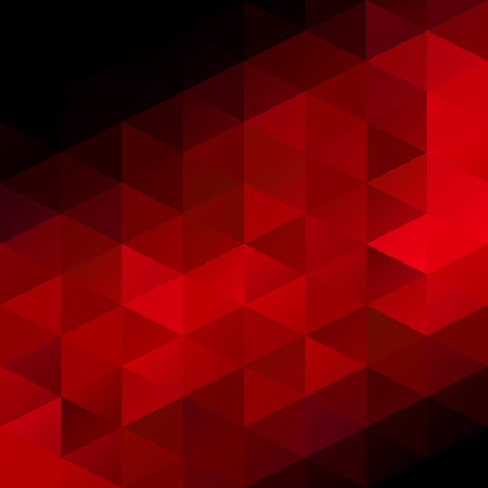 diamond background: Red Grid Mosaic Background, Creative Design Templates Illustration