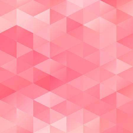 Rode Rooster Mozaïek Achtergrond, Creatieve Ontwerp Sjablonen Vector Illustratie