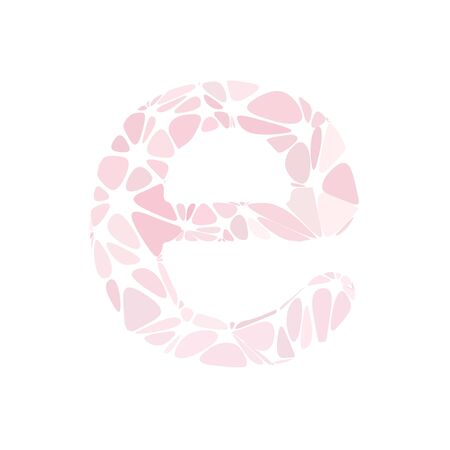 pink cell: Pink Alphabet e Cell Style, Creative Design Templates