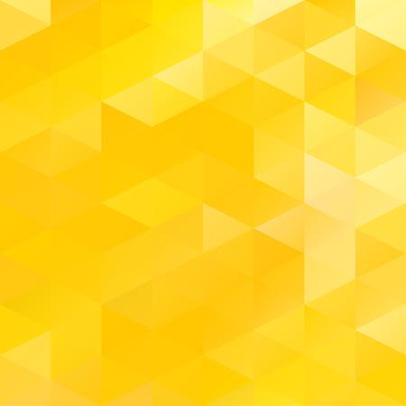 Yellow Grid Mosaic Hintergrund, kreatives Design Vorlagen Illustration