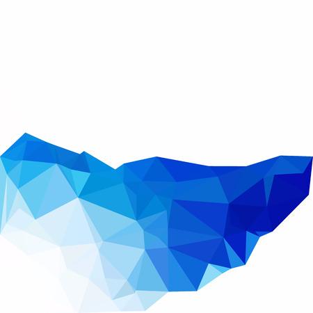 line wallpaper: Blue Polygonal Mosaic Background, Creative Design Templates