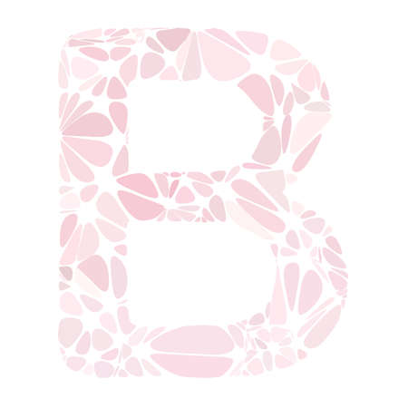 pink cell: Pink Alphabet Cell Style, Creative Design Templates