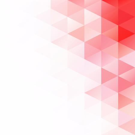 Red Grid Mosaic Hintergrund, Creative Design Vorlagen