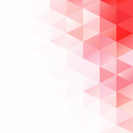 Rode Rooster Mozaïek Achtergrond, Creatieve Ontwerp Sjablonen