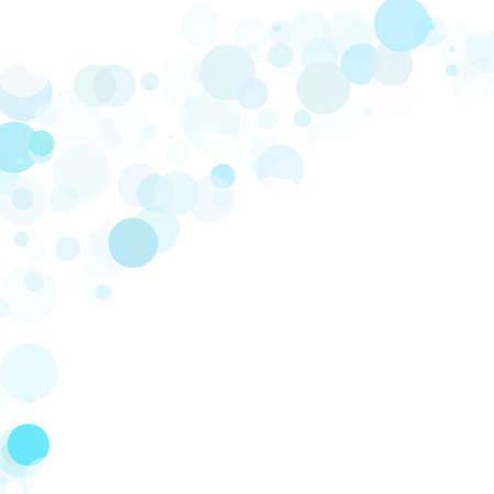 blue bubbles: Bubbles Circle Dots Unique Blue Bright Vector Background Illustration
