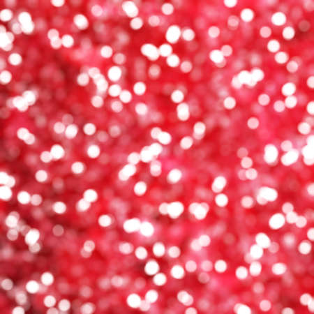 exciting: Defocused Unique Abstract Red Bokeh Festive Lights Stock Photo