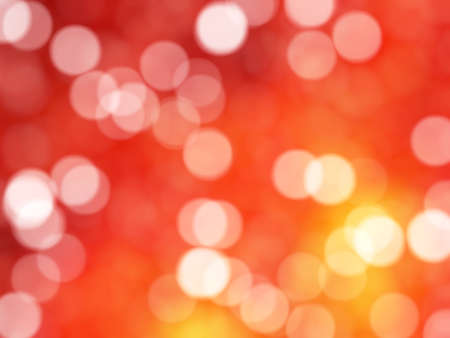 exciting: Defocused Unique Abstract Orange Bokeh Festive Lights