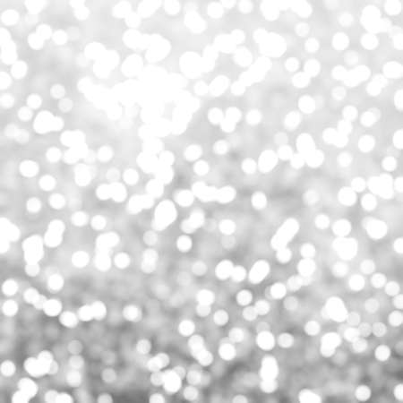 exciting: Defocused Unique Abstract Gray White Bokeh Festive Lights