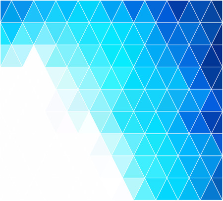 diamond plate: Blue Grid Mosaic Background, Creative Design Templates