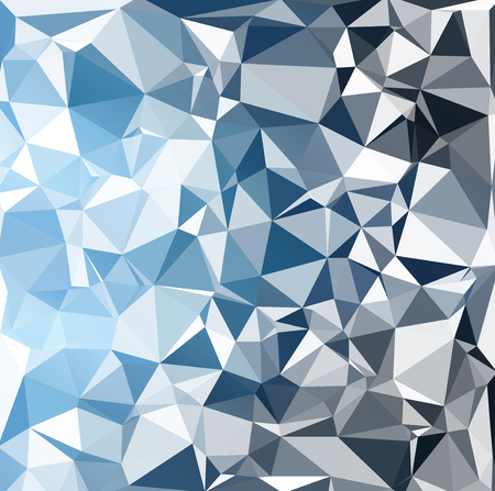 futuristic wallpaper: Blue Polygonal Mosaic Background, Creative Design Templates