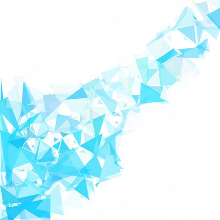 Blue Break Mosaic Background, Creative Design Templates