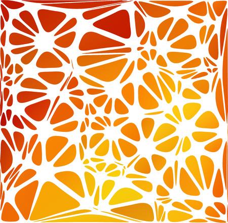 ellipse: Estilo moderno naranja, plantillas de diseño creativo