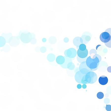 translucent: Bubbles Unique Blue Bright Vector Background