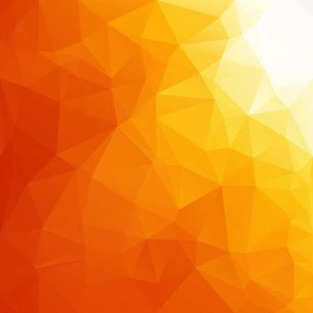 low floor: Orange Polygonal Mosaic Background, Creative Design Templates