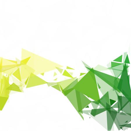 Green Break Mosaic Background, Creative Design Templates