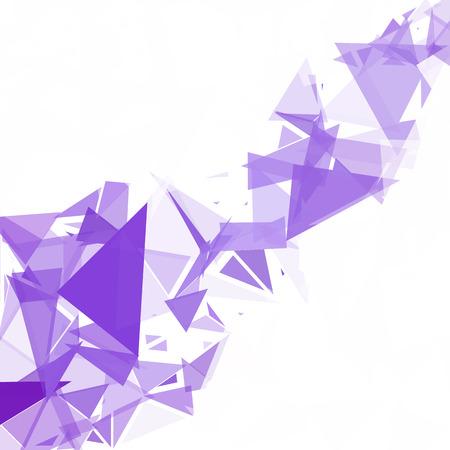 Purple Break Mosaic Background, Creative Design Templates