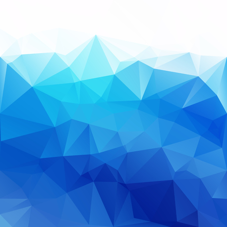 flooring: Blue Polygonal Mosaic Background, Creative Design Templates