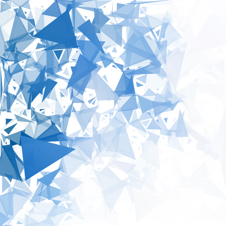 Blue Break Mosaic Background, Creative Design Templates