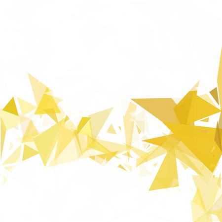 Yellow Break Mosaic Background, Creative Design Templates