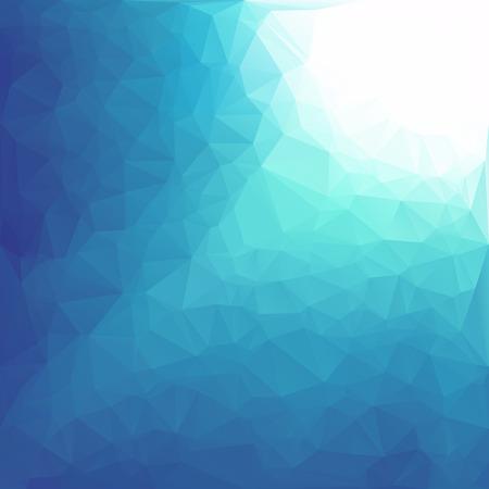 low floor: Blue Polygonal Mosaic Background, Creative Design Templates