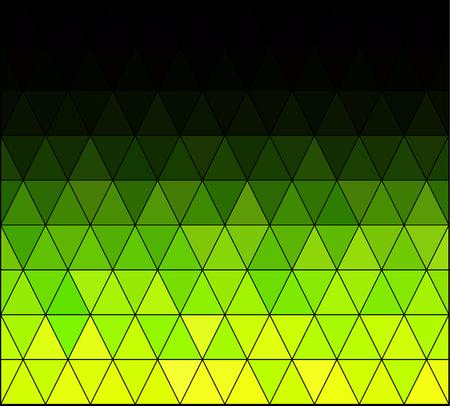 Green Square Grid Mosaic Background, Creative Design Templates Illustration